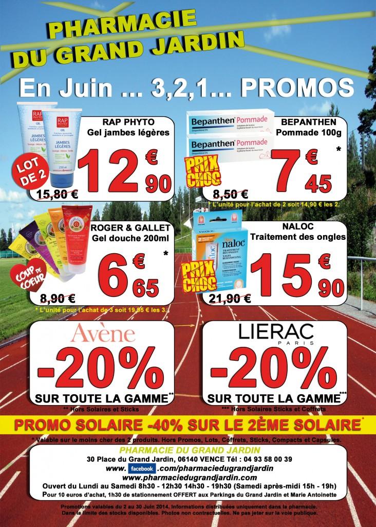 Flyer - Promotions Juin 2014