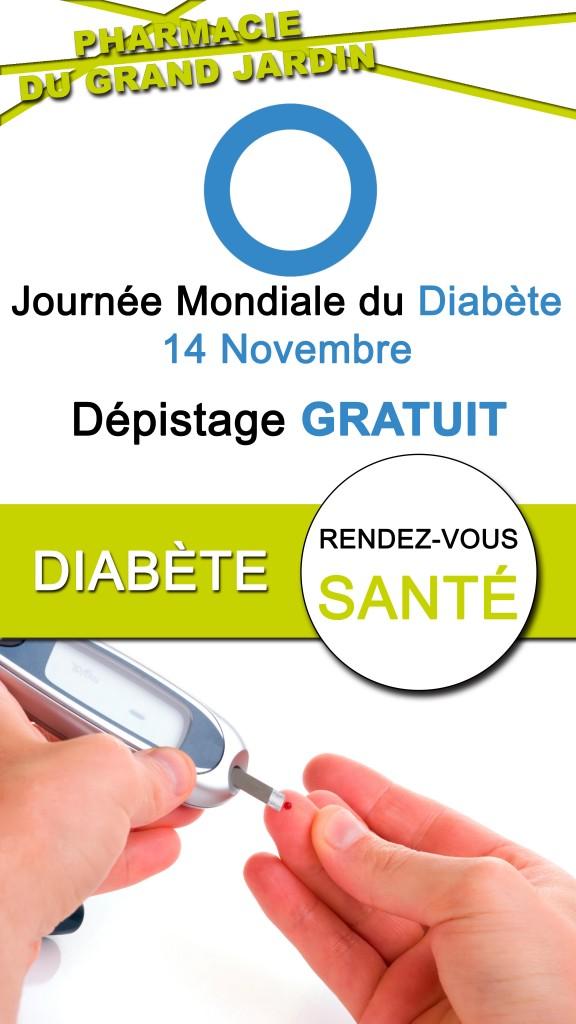 Vitrine - Dépistage Diabète