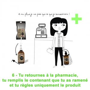 Pharmacie Zéro Déchet Vence Lababulles Vrac Gel douche